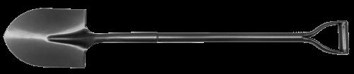 MN-79-506 Лопата канадська з сталевою ручкою