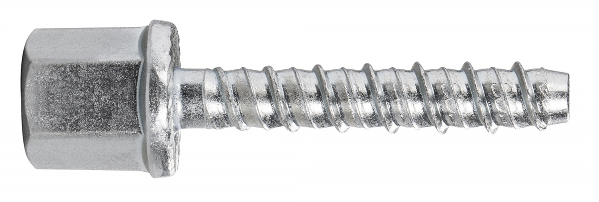 R-LX-I-ZP Zinc plated Internally Threaded Concrete Screw Anchor, Part 6