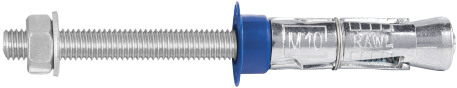 R-RBP-PF Rawlbolt® - Bolt Projecting with plastic ferrule