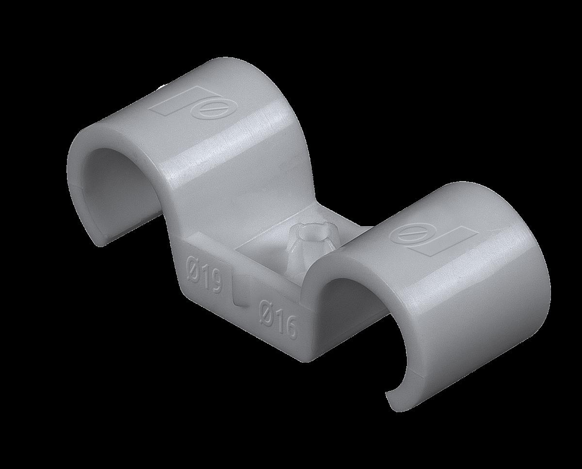 R-SC40-PCD Double plastic clip