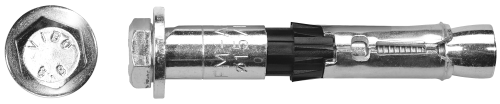 R-SPL-II-L анкер SafetyPlus II з гвинтом з шестигранною головкою