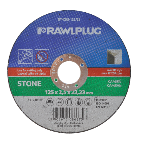 RT-CDS Cutting wheels for stone