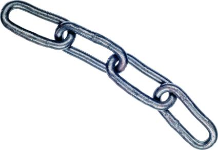Łańcuchy spawane DIN 5685C