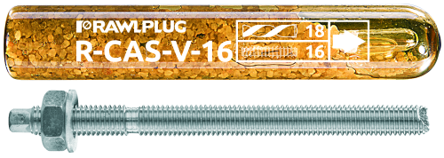 R-CAS-V Spin-In Capsule with Threaded Rods