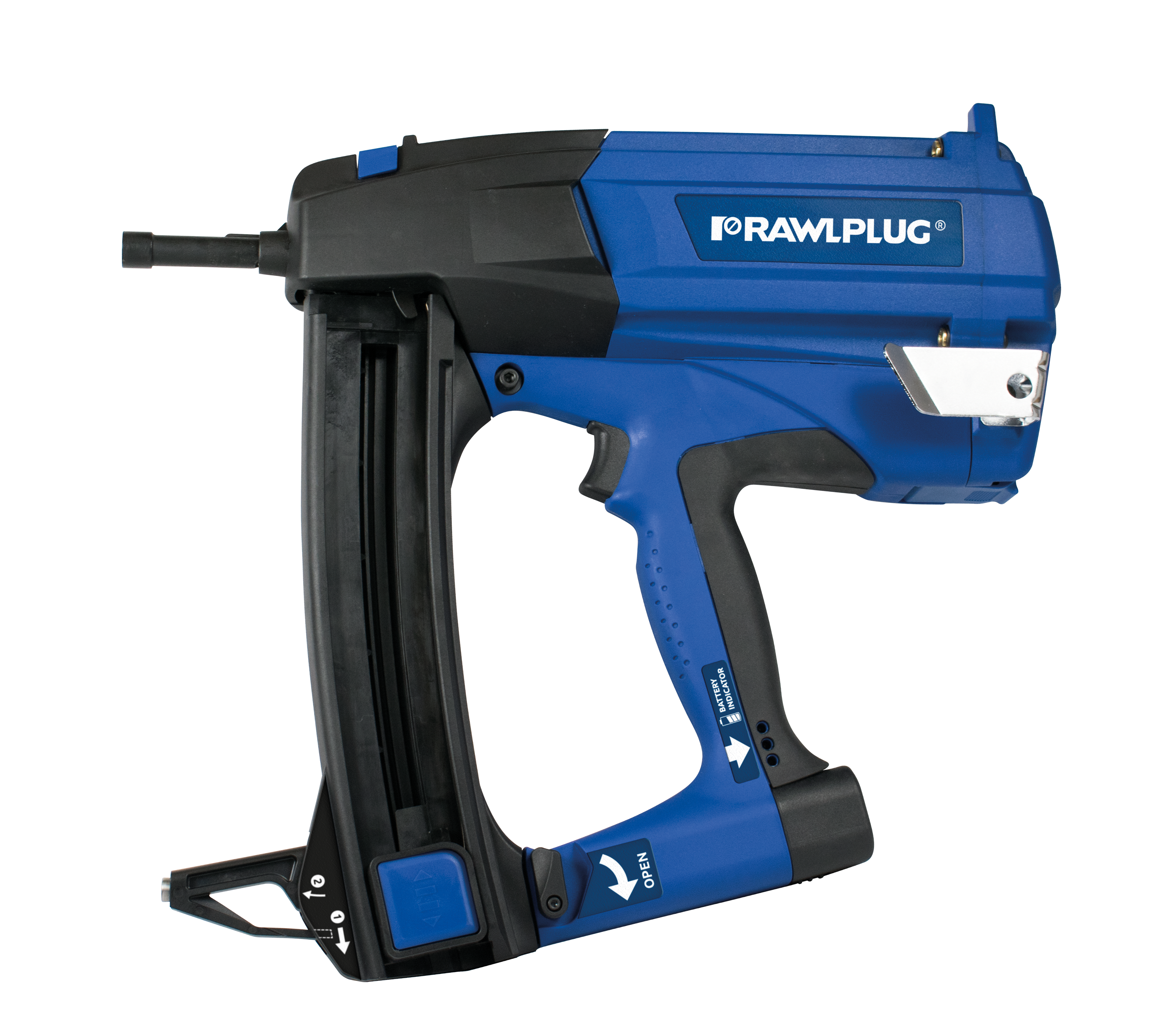 R-RAWL-SC40II Gas powered steel and concrete nailer