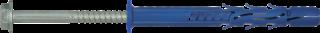 R-FF1-N-K-DT Kołek ramowy z wkrętem z łbem heksagonalnym w powłoce z ocynku płatkowego