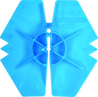 ISO-CLIP Дотискний манжет з відведенням води до тришарових стін