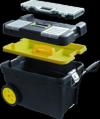 MN-03-160 Mobili įrankių dėžė ant ratų 600x420x380 mm