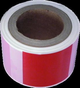 MN-05-605 Warning tape (white/red)