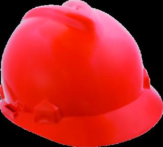 MN-06-141 Red safety helmet