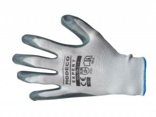 MN-06-214 Polyester latex palm-coated gloves