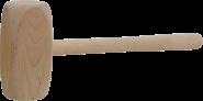 MN-32-200 Молоток бляхарський дерев'яний