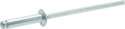 """MN-41-5 """"Breakstem"""" aliuminio kniedės 50 vnt"""