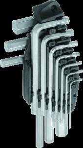 MN-54-102 HEX šešiakampių raktų rinkinys 10 vnt