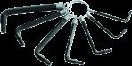 MN-54-105 TORX šešiakampiųraktų komplektas 7 vnt