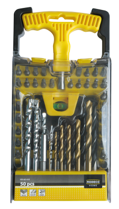 MN-60-650 50PCS SET OF DRILL BITS AND ACCESSORIES