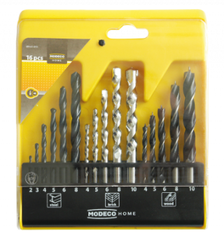 MN-61-810 16PCS SET OF DRILL BITS