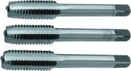 MN-62-0  Мітчики ручні 3 шт. profi