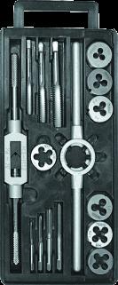 MN-62-320 Комплект плашок і мітчиків M3-M12