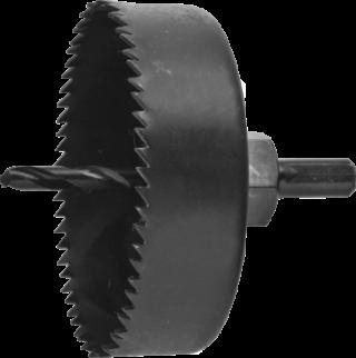 MN-65-62 Kpl. koron z zębami hartowanymi do drewna i płyt G/K