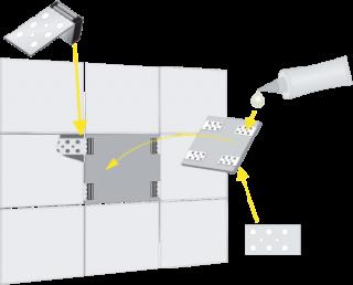 MN-76-030 Magnetinių plytelių laikikliai