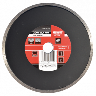 MN-78-2 Diamond blades with continuous rim for stationary tile cutters