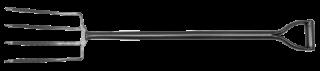 MN-79-508 Вила з сталевою ручкою