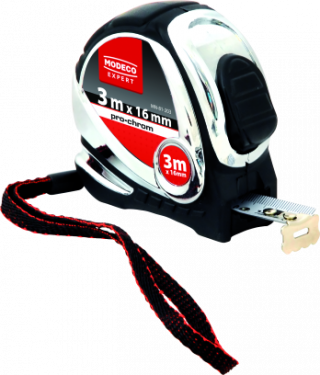 MN-81-20 Retractable tape measures pro chrom