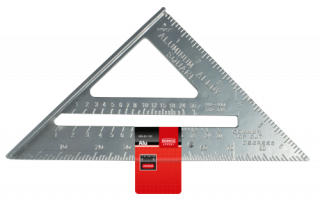 MN-83-100 CARPENTER'S SQUARE ALU 185X185 MM