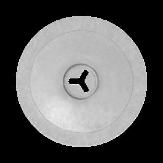 POK-040-ALZN Apskrita, 40 mm