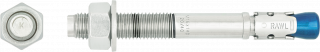 R-HPTII-A4 Stainless Steel Throughbolt