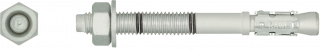 R-HPTII-ZF Zinc Flake Throughbolt