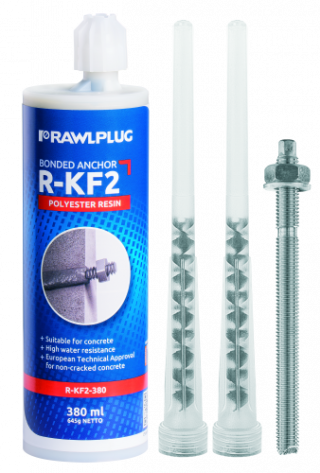 R-KF2 POLYESTER RESIN THREADED RODS
