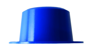 Plastic sealing cap, PP