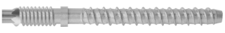 R-LX-E-ZP Zinc plated Externally Threaded Concrete Screw Anchor