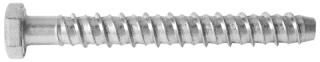 R-LX-H-ZP Zinc Plated Hex Concrete Screw Anchor