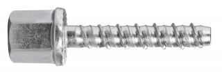 R-LX-I-ZP Zinc plated Internally Threaded Concrete Screw Anchor