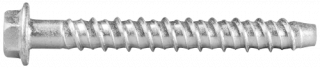 R-LX-HF-ZP Zinc plated Hex with Flange Concrete Screw Anchor