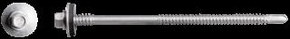 R-OCR-55/63 cinko plokštelėmis padengti savisriegiai varžtai, skirti sudėtinėms plokštėms, daugiausiai 6 mm