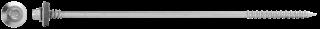 R-OCR-63/70 cinko plokštelėmis padengti savisriegiai varžtai, skirti sudėtinėms plokštėms tvirtinti prie betono ir medienos