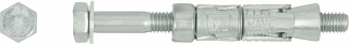 R-RBL Rawlbolt® – Loose Bolt for use in hollow core slab and ceramic substrates