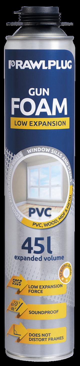 R-RPP-PVC Polyurethane Gun Foam for PVC