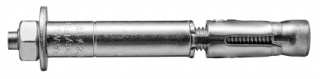R-SPL-BP Rozprężna kotwa tulejowa SafetyPlus z prętem i nakrętką