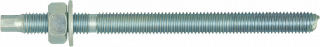 R-STUDS Metric Threaded Rods – Steel Class 5.8, Zinc Flake