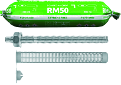 RM50 with Threaded Rods for Masonry (CFS+)