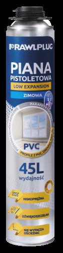 RPP-PVC-W Poliuretanowa piana pistoletowa do PCV – wersja zimowa