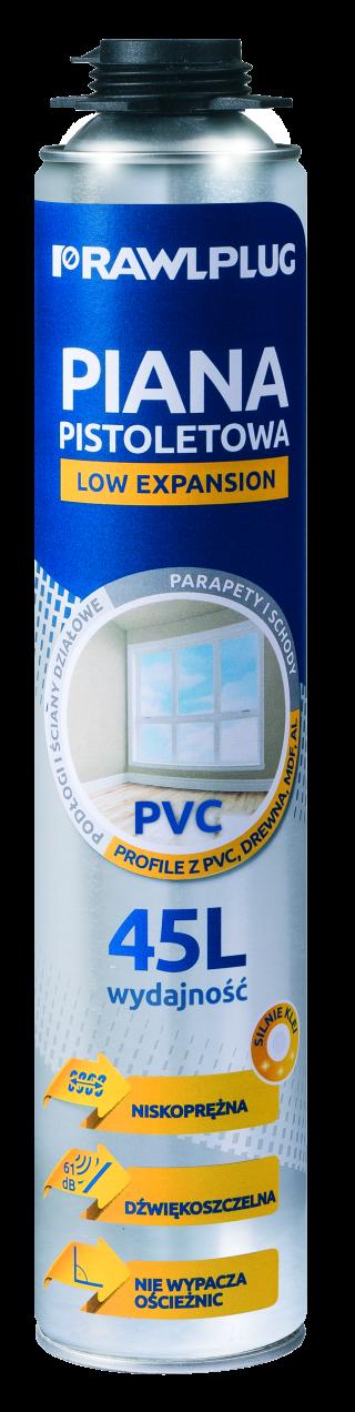 RPP-PVC Poliuretanowa piana pistoletowa do PVC