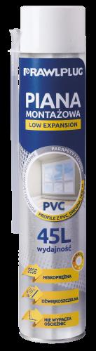RPS-PVC Poliuretano putos, purškiamos su vamzdeliu, skirtos PVC
