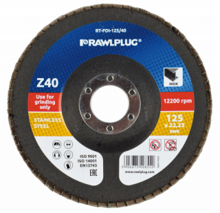 RT-FDI Zirconium flap discs for grinding stainless steel