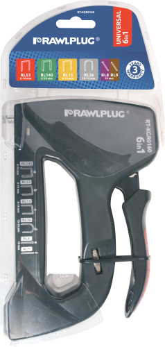 RT-KGR0160 Hand stapler - 6 in 1, 6-14 mm